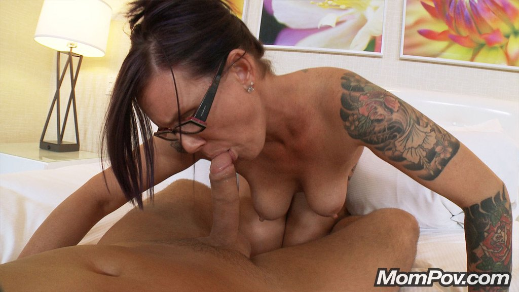 Milf Creampie Young Guy