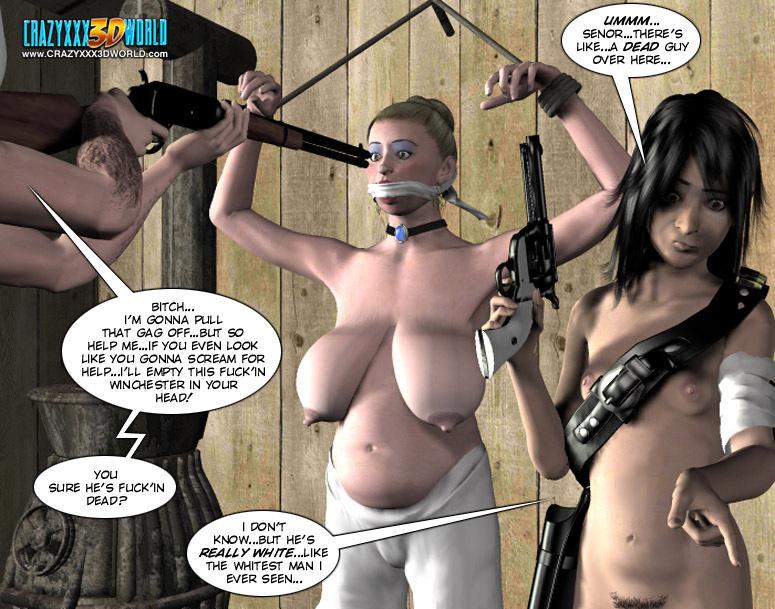 3d Bdsm lesbian comics