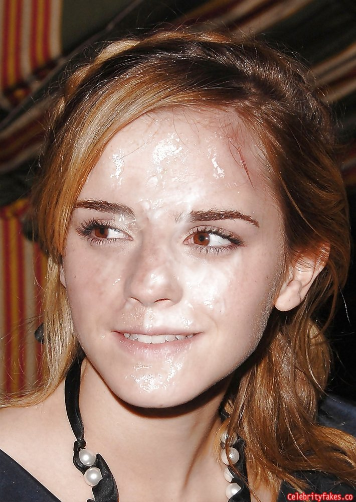 Surprise! Nina Emma watson cum how every