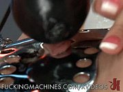 Hot Blonde On Top of Fucking Machines