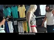 Блонди с большой попой обожает трах