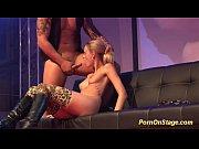 Pornographic sugar gets pumped live