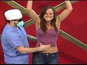 tickle strip Zoey