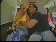 Picture Blonde Groped on Train