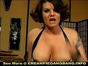 White Trash Creampie Ga...