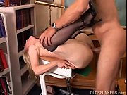 Gorgeous cougar in stockings loves to fuck