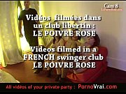 Spy cam at french private party! Camera espion ...