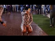Девушка в корсете делает минет видео