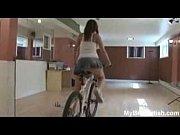 Upskirt and ass worship on bicycle – Mybestfeti...