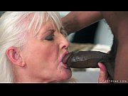 Picture Grey Granny on big black cock