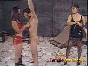 Loser endures everything that two hot mistresse...