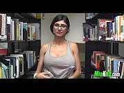 Mia Khalifa Getting Horny in a Library