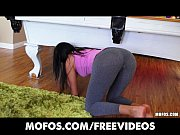 SEXY Spanish wife strips out of her yoga pants ...
