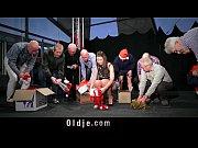 Christmas gangbang 8 ol...
