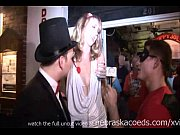 goofy guys interviewing naked girls on the stre...