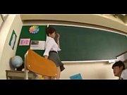alumnos. sus por grabada es minifalda con Profesora