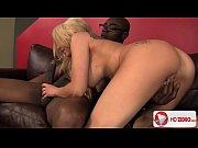 Blonde Bimbo Christie Stevens Enjoys Black Dick