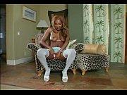 Ebony goddess strips and teases