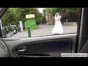 Rejected bride blowjob in car in public