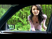Amateur teen fucking pov outdoor by the road