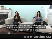 Casting Pole dancing girls fuck for fun in casting