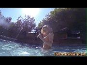 Смотреть порно облитыми водой девушка