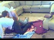 Девушка испытала жесткий оргазм видео