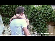 girl teen from blowjob Outdoors