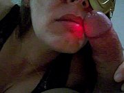 Picture Raquel com o pau na boca