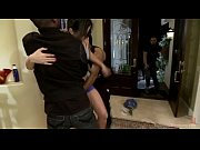 Picture Home invasion - slutty whore gets taken host...