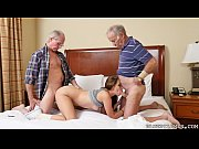 Picture Young Girl double teamed by Old Dicks