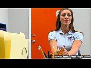 Русская девушка в белом белье порно видео