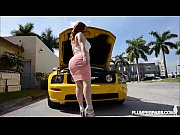 pawg gets penetrated after her car breaks down