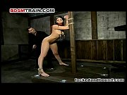 BDSM - Extremely Sexy Submissive in Bondage get...