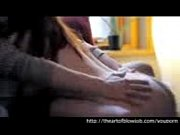 Hot-Redhead-Gives-Sensual-Body-Language-Blowjob...