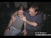 Pigtail Teen ASS FUCK Orgy in XXX Theater