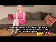 casting fake in creampie gets chick scottish eyed blue busty Fakeagentuk