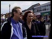 British Mature Yvonne with 2 cocks fucking