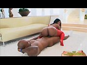 Picture Thick black big ass beauty riding black cock...