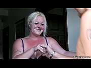 blonde chubby fucks man A