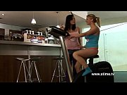 Picture Two young lesbians masturbating their pussy...