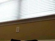 Cute Girl Tries Her New Glass Dildo on Webcam