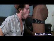 Blacks On Boys - Gay Bareback BBC Nasty Video Fuck 21