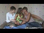 Русское порно одна девушка и два мужика
