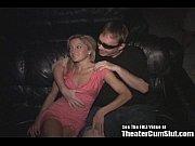 Красивую русскую женщину трахнули в рот