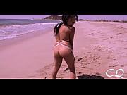 Image Mulher puta se exibiu nua na praia