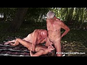 two horny old men fucke...