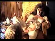 Порно сделала куни толстой через трусики