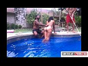 Lizzy has her pussy fucked poolside at American...