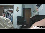 Грудастая камерон харится с массажистом